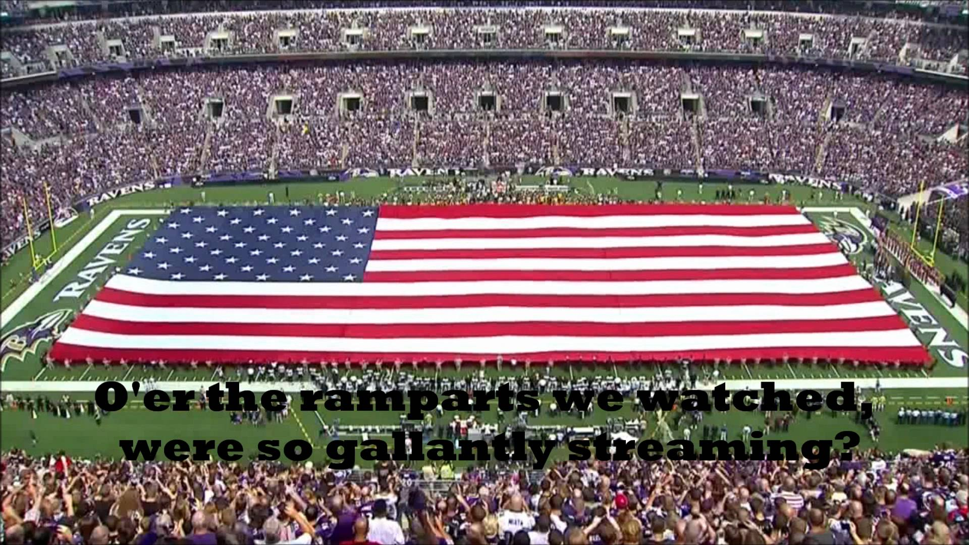 National Anthem Lyrics Of USA