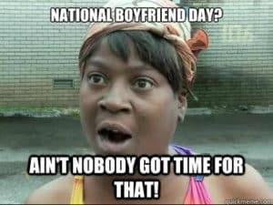 boyfriend day meme 2020