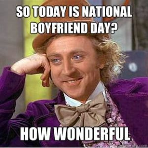 national boyfriend day October 3rd
