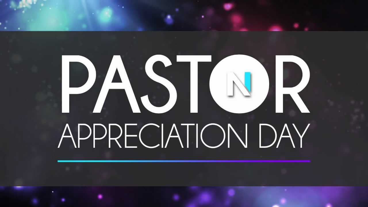Pastor Appreciation Day Or Clergy Appreciation Day October