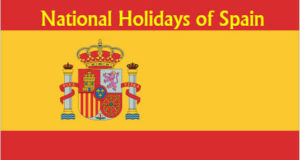 national holidays of Spain