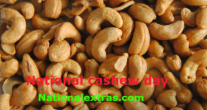 National Cashew Day-dry fruits and nuts
